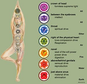 Image result for seven chakras found inside your physical body.