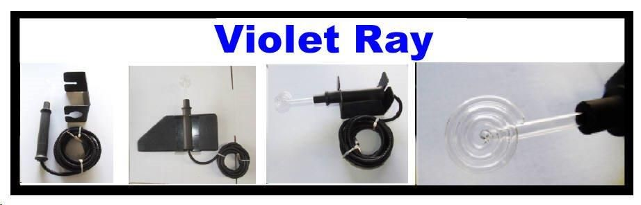 Violet Ray System for use with Multi Wave Oscillator only
