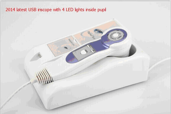 USB Iriscope with 4 LEDs