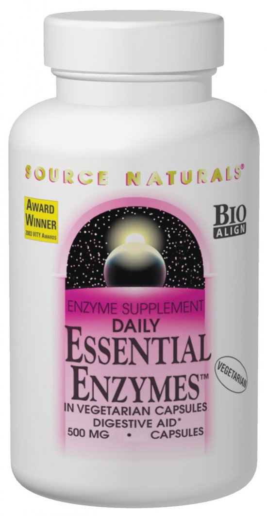 Essential Enzymes - 500 mg - 60 caps