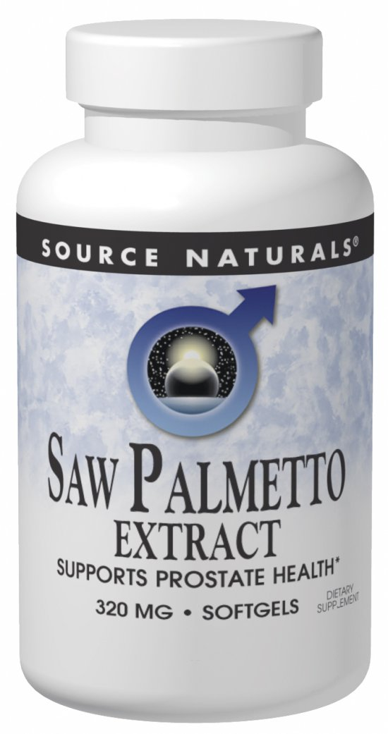 Saw Palmetto Extract - 160 mg - 60 softgels