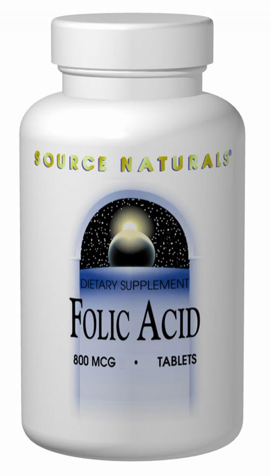 Folic Acid - 800 mcg - 500 tabs