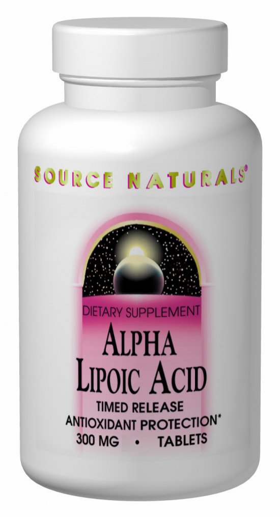 Alpha Lipoic Acid - 200mg - 60 tabs
