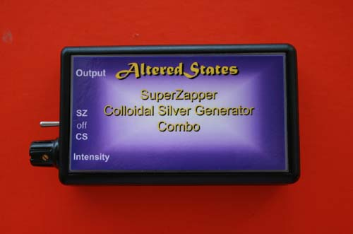 Colloidal Silver/Super Zapper Combination unit