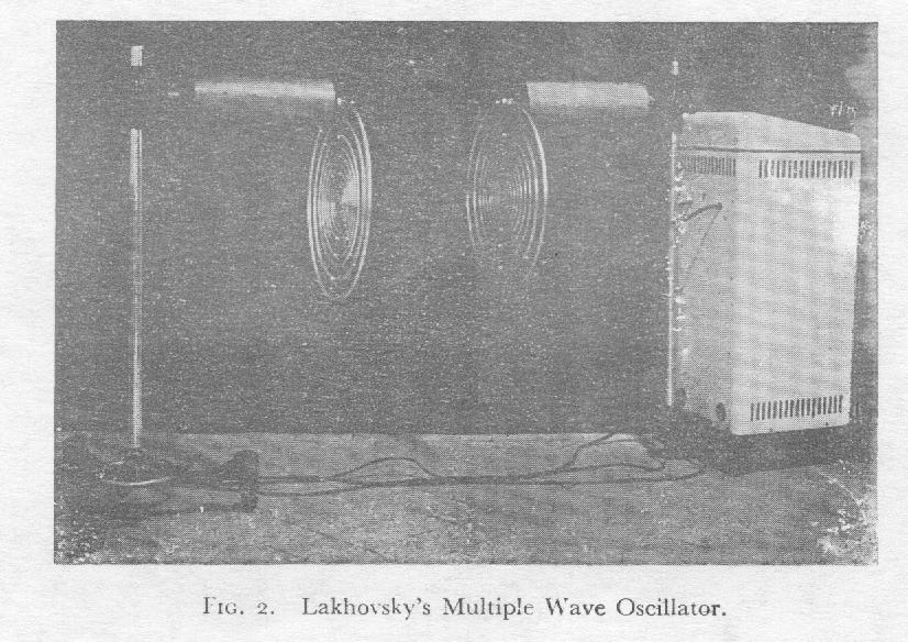 Lakhovsky's Multiple Wave Oscillator
