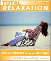 Total Relaxation Binaural Beat CD