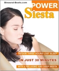 Power Siesta Binaural Beat CD