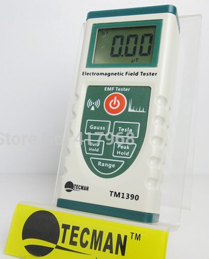 Elctromagnetic Radiation Gauss Meter